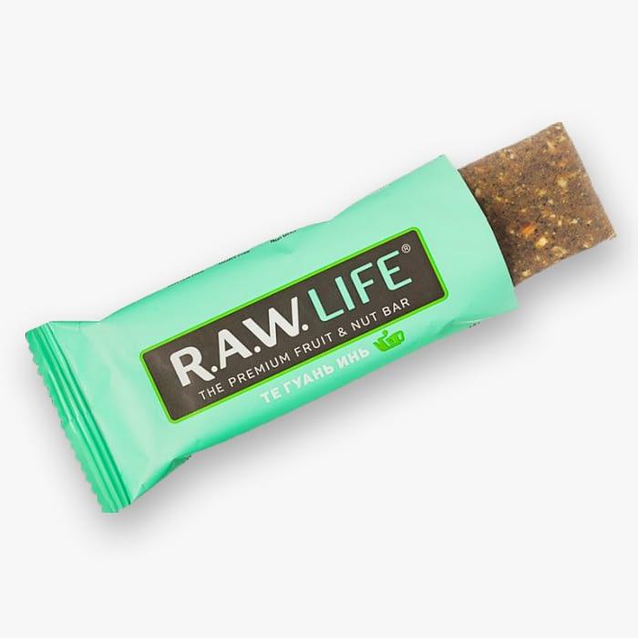 Орехово-фруктовый Батончик RAW-Life Тегуань-Инь